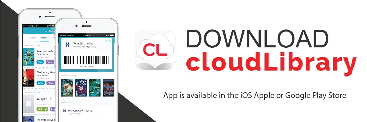 Download cloudLibrary