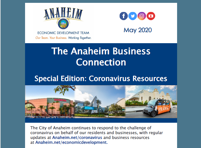 The Anaheim Business Connection Special Edition - May 2020