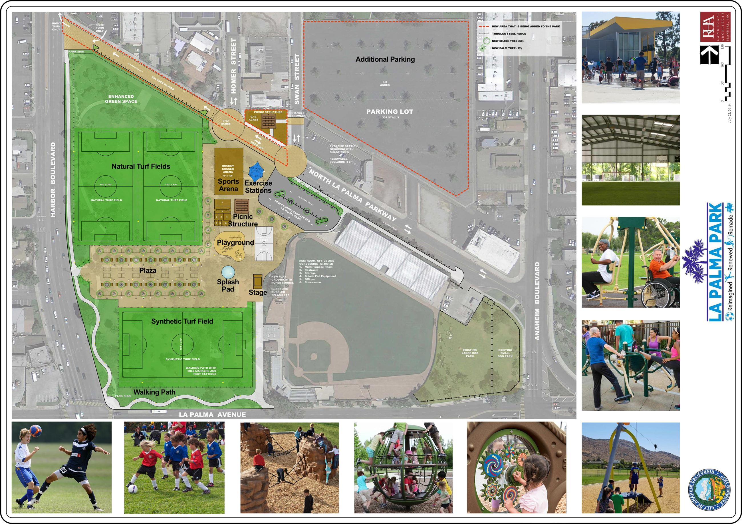 Anaheim - La Palma Park Concept Plan (7-22-19) v3-1 Opens in new window